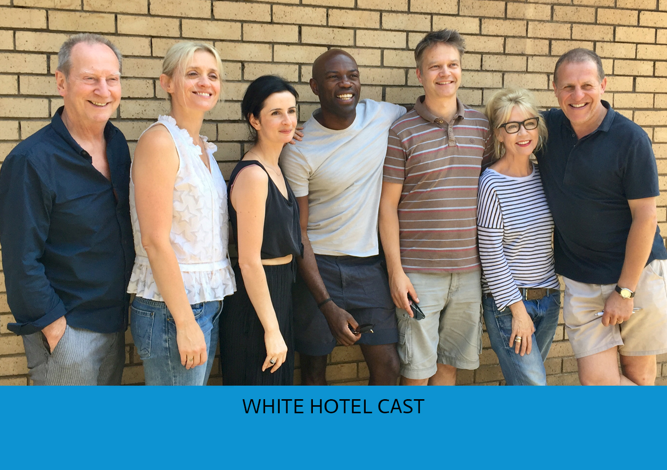 White Hotel - cast with title